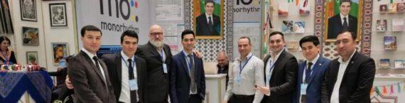 """""""Моноритм"""" на XIII Международной книжной выставке-ярмарке в Ашхабаде"""